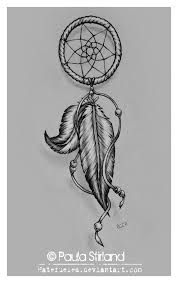 Dream Catcher Tattoo Sketch One more dream catcher tattoo drawing 45