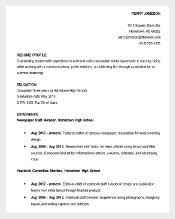download resume sample high school student academic sample academic resume