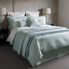 callista jacquard bedding duck egg