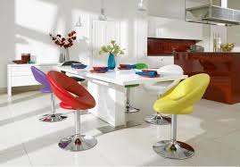 Colorful Dining Room Tables Simple Ideas