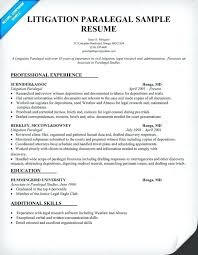 resume paralegal litigation paralegal resume the best resume sample entry  level paralegal resume cover letter -