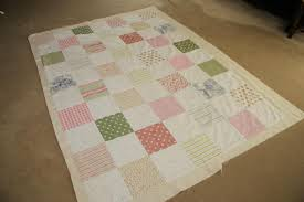 How to Make A Simple Patchwork Quilt Part 5 - How to Attatch the ... & I don't actually like this so I choose to quilt my top and wadding/interlining  and then add the backing afterwards. The backing then is line free which is  ... Adamdwight.com