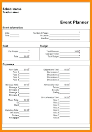 Event Planning Timeline Template Sample Budget – Danielmelo.info