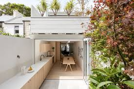 architecture houses interior. Unique Architecture Indoor  Outdoor Kitchen  The Surry Hills House By Benn  Penna For Architecture Houses Interior