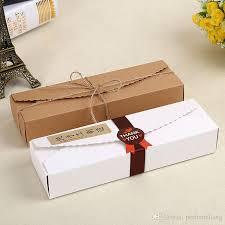 Gift Cardboard Boxes 23 7 4cm Cardboard Box Macaron Biscuit Pancake Packaging Kraft Paper
