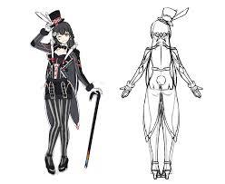 月ノ美兎新衣装コンテスト参加デザインバーチャルマジシャン和洋