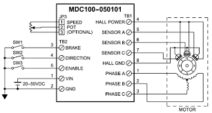 mdc100 050101 brushless dc speed controllers Brushless Motor Wiring Diagram brushless dc controllers mdc100 050101 wiring iec brushless dc motor wiring diagrams pdf