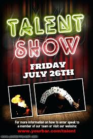 talent show flyer template free talent show program template red illustrated microphone talent show