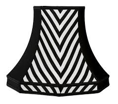 black and white striped lamp shades shot silk lampshade by cherry b lampshades 17