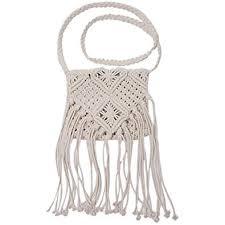 GU Angqi Fashion <b>Women</b> Shoulder Bag Crochet Knit Handbag ...