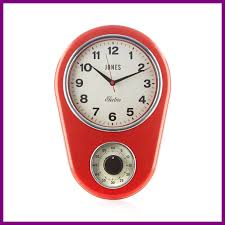 best jones red vintage kitchen timer clock from debenhams of trend and modern design inspiration red