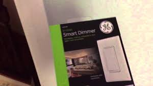 ge 12724 in wall smart dimmer