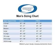 Kanu Surf Extended Size Chart Vapor Apparel Surf Ireland Mens Upf 50 Performance T Shirt