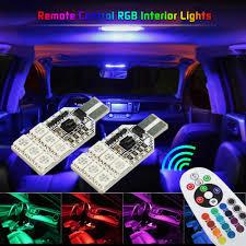 Mitsubishi Montero Interior Lights 2x Rgb W5w T10 Led Bulb Car Interior Clearance Lights For Mitsubishi Lancer 10 9 Asx Pajero Sport L200 For Mazda 3 5 6 Cx 5 323