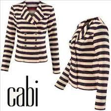 Details About Nwt Cabi 5094 Cruise Jacket Red Blue Cream Striped Blazer Nautical Career Sz 10