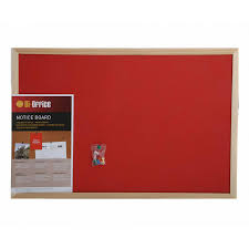 pin board for office. Bisilque Felt Notice Board 600x400mm - Fabric Pin Boards Conference Supplies \u0026 Presentation Equipment Office For T