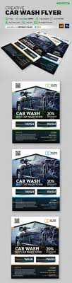 Car Wash Flyer Template Free Beautiful Car Wash Retro Style - Resume ...