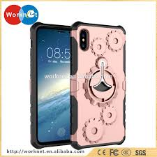 Designer Cell Phone Cases Wholesale China Factory Wholesale For Iphone X Case Tpu Cell Phone Cover New Designer Wheel Gear Pattern Kickstand Running Arm Band Buy For Iphone X For