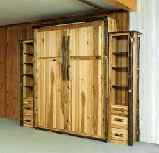 queen murphy bed this handcrafted hickory bed will bring some rustic style to your bedroom while queen murphy bed