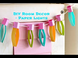 easy craft idea paper lights munchkin time