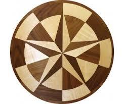 wood floor inlays. Texas Star Wood Floor Medallion Inlay Inlays
