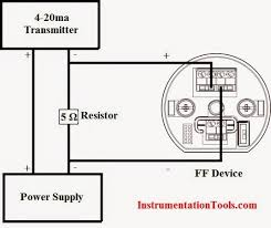convert 4 20ma current output to foundation fieldbus foundation fieldbus system engineering guidelines at Foundation Fieldbus Wiring Diagram