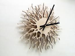 unique large wall clock home