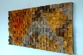 wood wall sculpture art