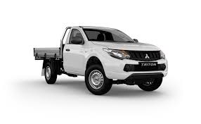 2018 mitsubishi triton release date australia. wonderful mitsubishi mitsubishi triton single cab 42 white color side view hd wallpaper on 2018 mitsubishi triton release date australia