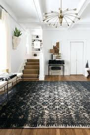 burlap area rug stencil a jute burlap rug or fabric to look like this journey rug