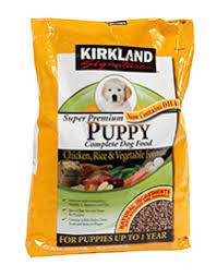 Kirkland Signature Puppy Formula Chicken Review