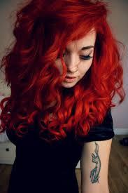 Red Hair Style 25 Best Fire Red Hair Ideas Fire Hair Fire Ombre 5097 by stevesalt.us