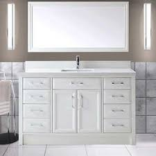 bathroom vanity with single sink. calais 60\ bathroom vanity with single sink
