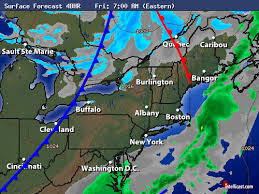 Intellicast 48 Hour Surface Forecast In Rochester New York