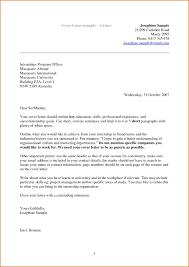 Resume Sample Email Cover Letter For Hr Job Application For