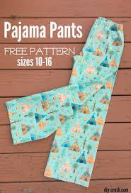 Pajama Pants Pattern