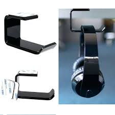 headphone holder desk durable headphone stand with stick headset holder wall desk display headset stand l headphone holder