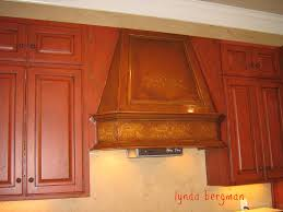 Kitchen Cabinets Painted Red Lynda Bergman Decorative Artisan Kitchen Cabinets Hand Painted