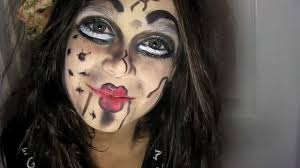 old evil ragdoll makeup tutorial for halloween
