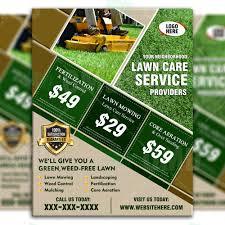 Lawn Care Brochure Lawn Care Flyer Design 7 The Lawn Market