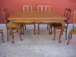 french antique dining set. recent antique dining room furniture, tables, || table | french set q