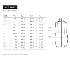 Size Guide Universal Standard