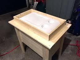 diy wooden cooler cooler box diy outdoor pallet cooler