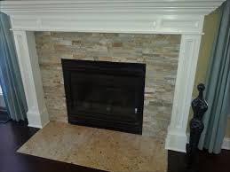 interiors magnificent stacked stone tile fireplace painting a stone fireplace paint stone fireplace fireplace hearth