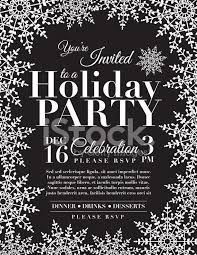 White Christmas Invitations Black And White Christmas Party Invitations Templates Festival