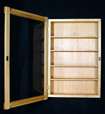 wall hanging curio cabinet wall hung curio cabinets with glass doors tags dreaded wall wall hung