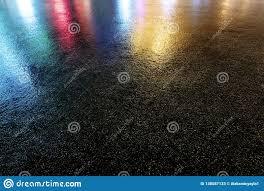 Light Colored Asphalt Wet Colored Asphalt Road Texture Stock Image Image Of