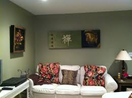 paint colors home. Charming Floral Motif At Cushions On White Sofa Blended With Cool Grey Basement Paint Colors Home V