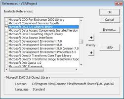 Excel Vba Free Online Reference Guide Dao Ado Objects