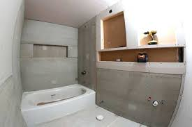 make the most of your bathroom drywall is and cement board for downstairs blog pertaining to waterproof drywall for shower bathrooms